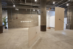Junya Kataoka + Rie Iwatake solo exhibition at BankART Under35